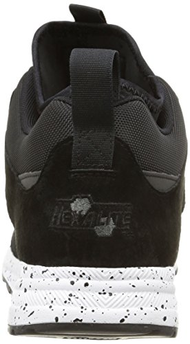 Reebok Ventilator Mid, Chaussures de running homme Noir (Black/White/Dark Sil)