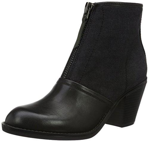 g star stiefeletten G-STAR RAW Damen Lynn Boot Cowboy Stiefel, Schwarz (Black 990), 36 EU