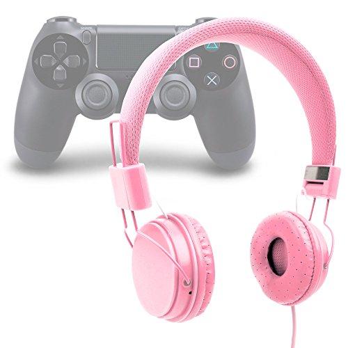Duragadget cuffie per playstation 4/3 | xbox one - design rosa - alta qualità