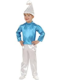 Kostüm Karneval Kostüm Kind Nano blau Schlumpf * 19955.