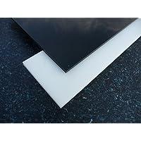 Platte aus POM, 500 x 245 x 1 mm natur (weiß) Zuschnitt alt-intech®