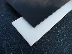 Platte Acrylglas XT, 500 x 500 x 3 mm, schwarz, Zuschnitt PMMA schwarz glänzend alt-intech®
