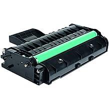 Tóner para Lanier Ricoh Aficio SP201HE, [407254], compatible con impresoras Ricoh Aficio SP 200 Series,SP201,SP201n,SP201nw,SP203s,SP204sf,SP 204sfn,SP204sfnw,SP204 sn, color negro, imprime hasta 2.600 páginas.