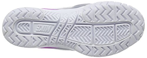 Nike Air Vapor Ace, Chaussures de Tennis Femme Gris (Grey/Hyper Violet)