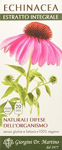 Dr. Giorgini Integratore Alimentare, Echinacea Estratto Integrale Liquido Analcoolico - 200 ml