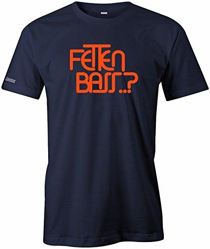 Jayess Fetten Bass - Herren T-Shirt in Navy by Gr. L