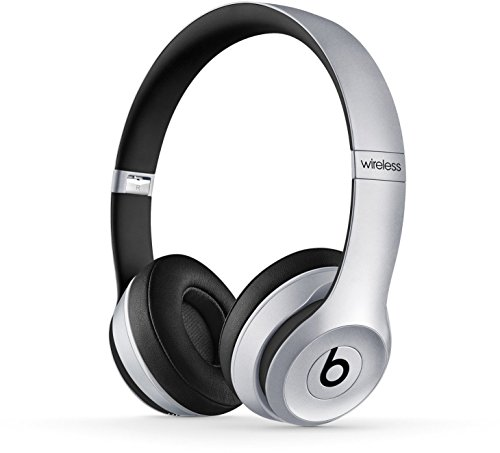 Beats Solo 2 Wireless - Auriculares de diadema abiertos, color gris espacial