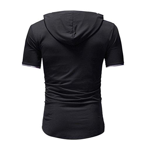 00802a698073 Homebaby Estivi Maglietta Manica Corta Uomo T-Shirt Sportivi Vintage - Casual  Camicia Elegante Cotone Maglione Tumblr Estiva Particolari Felpe Pullover  ...