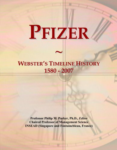 pfizer-websters-timeline-history-1580-2007