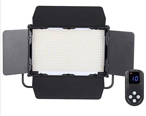 Preisvergleich Produktbild Gowe CRI 95+ 1040pcs LEDs Fotografie Studio Lampe Helligkeit verstellbar 7680lm 5600K für Canon Nikon Kamera Camcorder