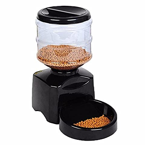 Pet Feeder, Greatic 5.5L Automatic Pet Feeder Electronic Digital Display Bowl Dispenser for Dog Cat