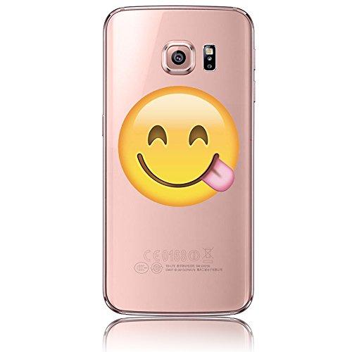 Samsung Galaxy S6 Edge Plus Caso, Samsung Galaxy S6 Edge Plus Cover, Bonice Ultra Sottile PC Hard Back Antiurto Shock-Absorption Durable Case Love + 1x Protezione Dello Schermo Screen Protector model 7