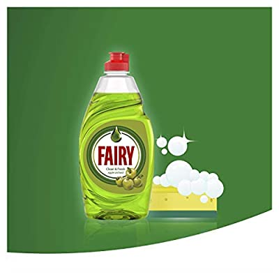 Fairy Clean & Fresh Washing Up Liquid Apple Orchard, 520 ml : everything five pounds (or less!)