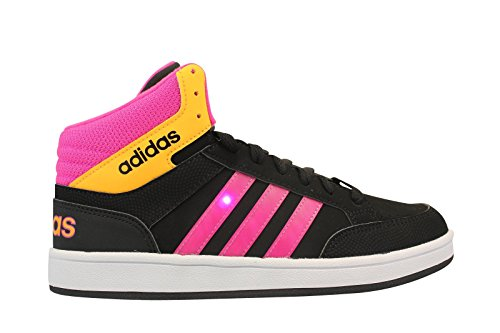 Adidas Performance Hoops Light Mid noir, baskets mode enfant