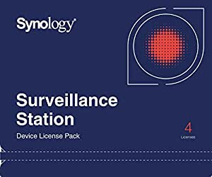 Synology 4x Camera Pack License 15-200000102 2.0-0580