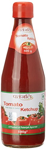 Patanjali Tomato Ketchup with Onion and Garlic, 500g