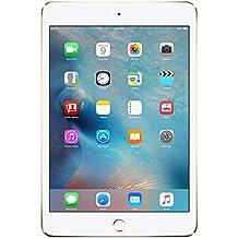 Apple iPad mini 4 - Tablet (A8, M8, Flash, 2048 x 1536 Pixeles, IPS, 128GB Oro (Gold))