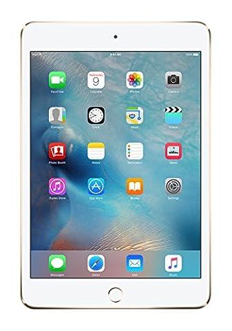 Apple iPad Mini 4 Tablet,128GB, Farbe: Gold, A8, M8, 128GB, Flash, 20,1cm (7,9 Zoll) (Apple Tablet Ipad Mini)