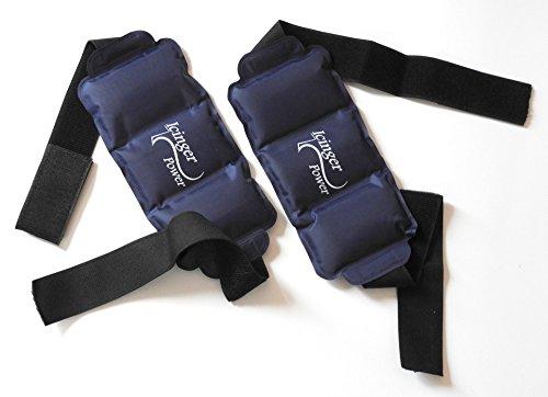 Kalt-Warm Gel-Pack mit Hülle - 350gr (11.3oz) - 26x13cm (10.2x5.1inches) - Hülle 55 bis 80cm (21 to 31 inches) -