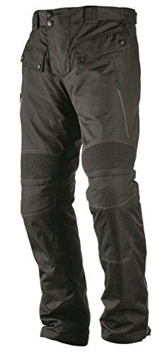 Nerve Touring Spider Pantalones Moto Tirantes, Negro