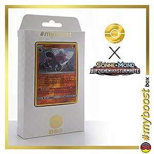 Kosturso (Bewear) 56/111 Holo Reverse - #myboost X Sonne & Mond 4 Aufziehen Der Sturmröte - Box de 10 Cartas Pokémon Aleman