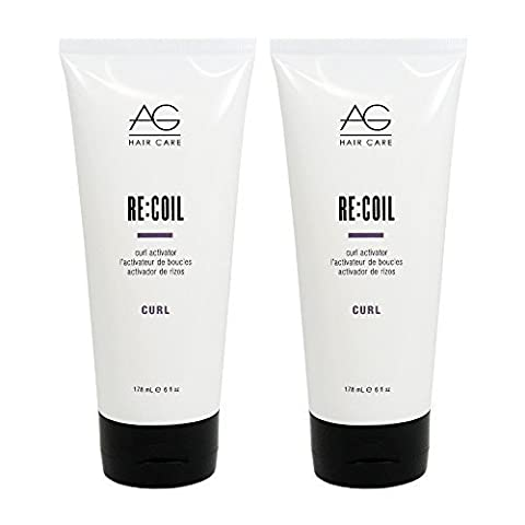 AG Hair Re-Coil Curl Activator 6oz by AG Hair Cosmetics (Recoil Curl-activator)