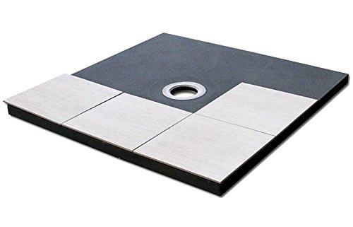 PCI PECIBORD Unterbauelement barrierefrei Dusche 120x120