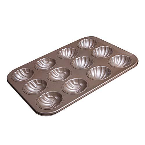 SM SunniMix 1 Stü Küche Non Stick 12 Cup Madeleine Pan Backformen Kuchen Backform -