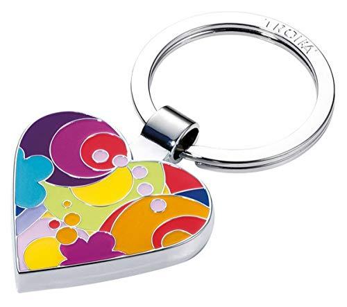 Troika Schlüsselanhänger I Love Shopping mit Einkaufswagenchip