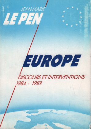 Europe : Discours et interventions, 1984-1989