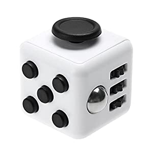 Fidget Cube/Spinner Toy, TUOYA 6 Kinds of Functions Relieves Stress and Anxiety Cube EDC Fidget Toy Perfect for Children and Adults