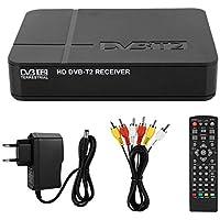 Neufday Decodificador DVB-T/T2, DVB Android TV Box Control Remoto entregado