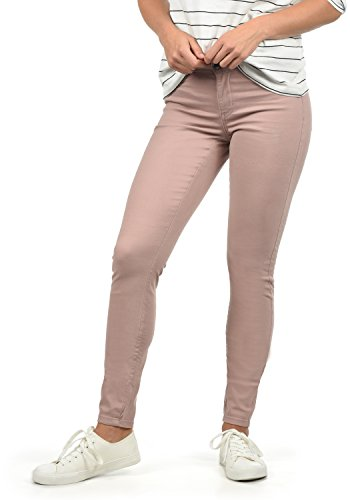 JACQUELINE de YONG by Only Lara Super Stretch Damen Jeans Denim Hose Röhrenjeans aus Stretch-Material Skinny Fit, Farbe:Woodrose, Größe:S/L30