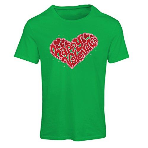 """T-shirt femme Joyeuse Saint-Valentin - """"Mon amour"""" cadeaux, tenues sexy Vert Multicolore"""