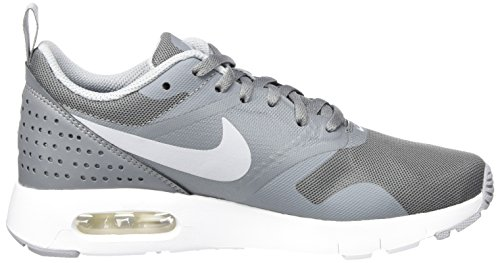 Nike Air Max Tavas, Baskets Basses Garçon Gris (Cool Grey/wolf Grey-white)