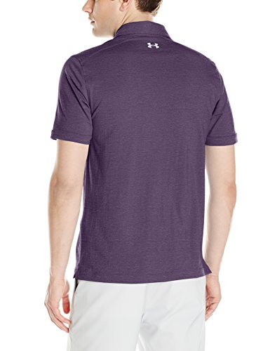 Under Armour Herren Charged Cotton Scramble Polo Kurzarmshirt Gooseberry Purple