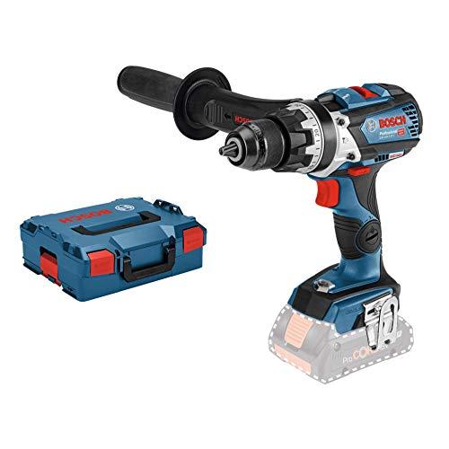 Bosch Professional 18V System Akku Schlagbohrschrauber GSB 18V-85 C (max. Drehmoment: 110 Nm, Bohr-Ø max.: Holz/Stahl/Mauerwerk 82/13/16 mm, Connect Ready, ohne Akkus und Ladegerät, in L-Boxx)
