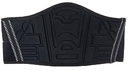 Ledershop-online Motorrad Nierengurt Nierenschutz Rückenwärmer mit breitem Klettverschluss schwarz L