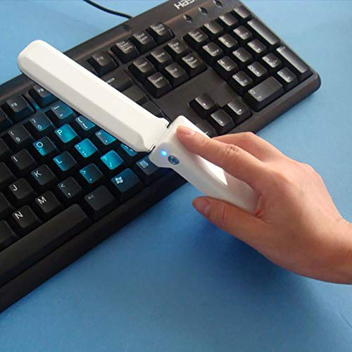 F-JX Portable Ultravioleta germicida de la lámpara de desinfección UV de Mano Plegable del Recorrido...