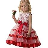 f0a1cb888750 ❤️vestito damigella bambina vestito cerimonia bambina vestito lungo bambina  vestito babbo natale bambino regali natale