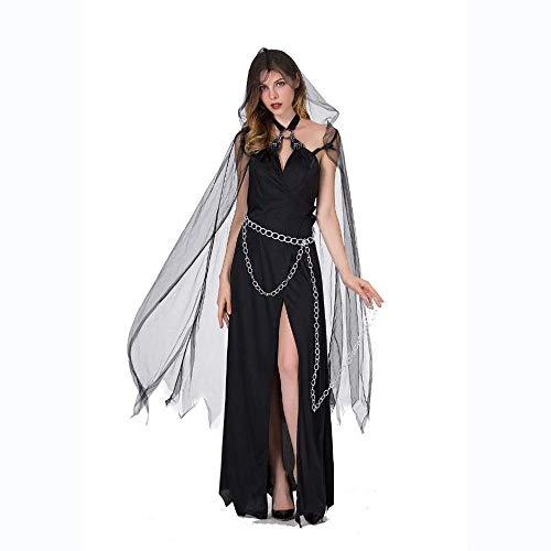 en Hexe Vampir Kostüm Frauen Scary Devil Cosplay Ghost Day Die Toten Karneval Tragen Horror Outfits Weibliche Vampir Kleid ()