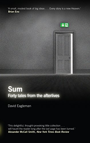 Buchseite und Rezensionen zu 'Sum: Forty Tales from the Afterlives' von David Eagleman