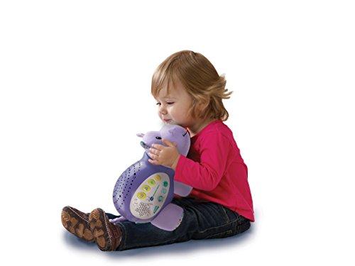 Einschlafhilfe für Baby & Kind mit Spieluhr - Sternenlicht Nilpferd - Sternenlicht, Spieluhr, Nilpferd, baby einschlafhilfen, Baby