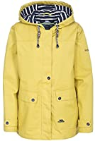 Trespass Womens/Ladies Seawater Waterproof Jacket (L) (Gold)