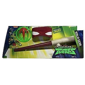 Giochi Preziosi Teenage Mutant Ninja Turtles TUAB44 Juego de rol - Juegos de rol (Superheroes, Estuche de Juego, 4 año(s), Niño, Niño, Gris, Naranja)