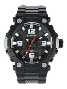 Sonata Ocean Series II Analog Grey Dial Men's Watch - 77014PP01J