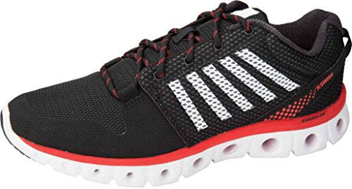 K-Swiss Performance - X Lite Athletic Cmf, Scarpe fitness Uomo Black/Red/White