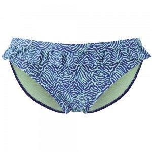 Cleo by Panache Hattie Frill Pant, Blu navy e verde zebra print Navy Blue and Green 44 - Green Zebra Animal Print