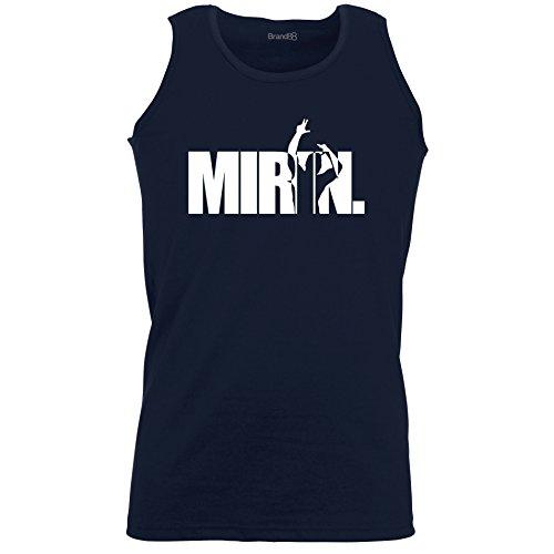 Brand88 - Mirin Zyzz, Zyzz inspired, Unisex Athletic Weste Dunkel Blau