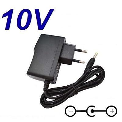 Adaptateur Secteur Alimentation Chargeur 10V pour Remplacement Lecteur CD Sony ZS-D10 puissance du câble d'alimentation de CARGADOR ESP